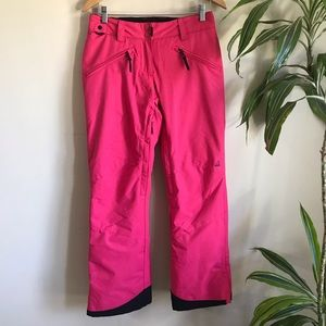 Ripzone Moe Mentum Insulated Waterproof Snow Pants Pink Black Size Small